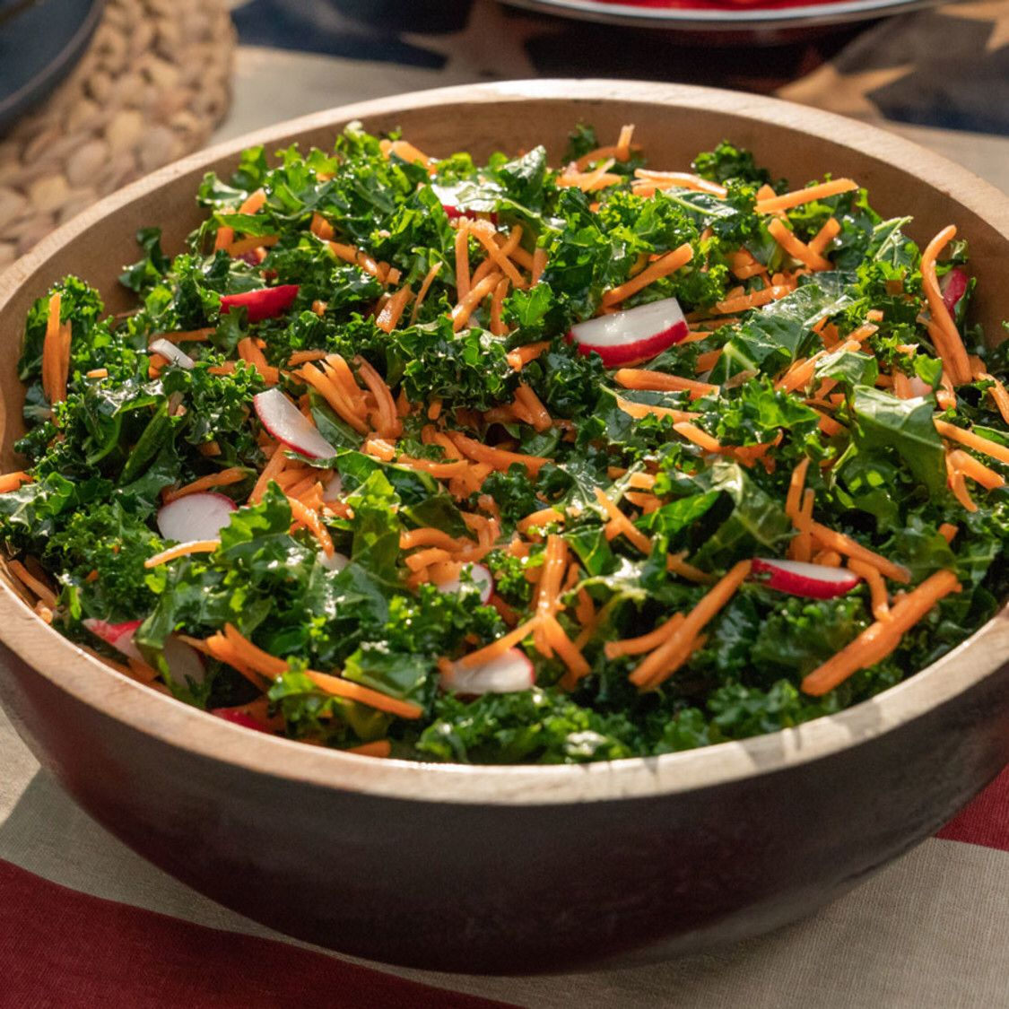 Kale And Carrot Slaw Recipe In 2020 Slaw Recipes Food Network Recipes Carrot Slaw
