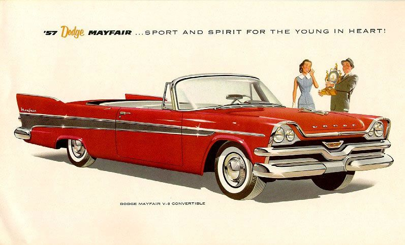 1957 Dodge | 1957 Dodge Brochure / 57 06.JPG Car Brochure