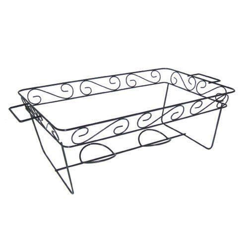 Decorative Wire Chafing Rack Black 12 Pk 89 46 Chafing Dishes Food Warmers Chafing