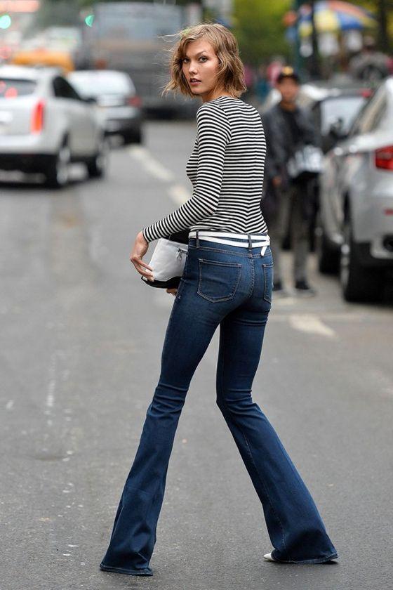 Stripes in street style