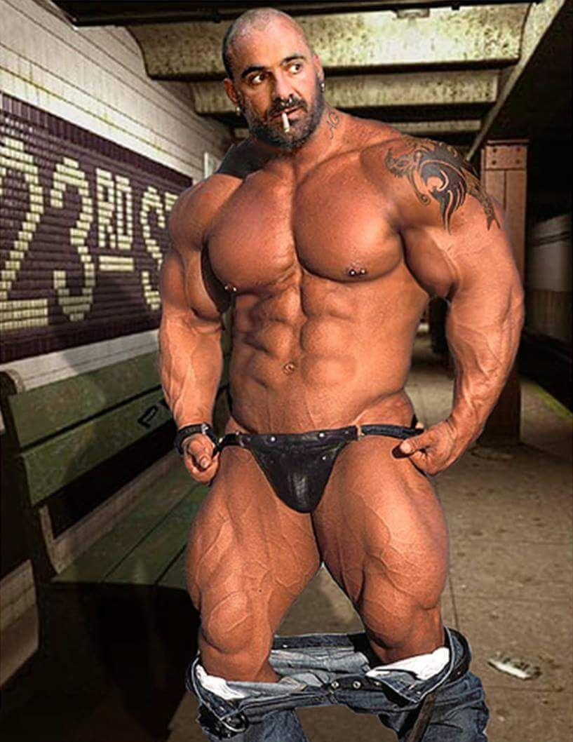 Bear gay man movie muscle