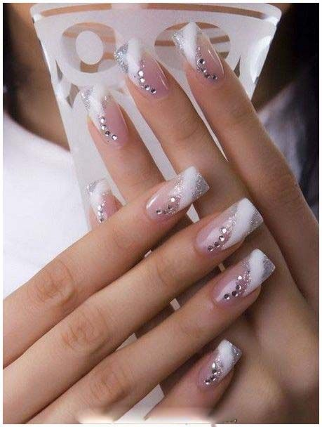 Bridal pastel color nail paint designs nail paint pinterest related postswhite nails art design ideaawesome yellow nail artburgundy and white christmas nail art prinsesfo Gallery