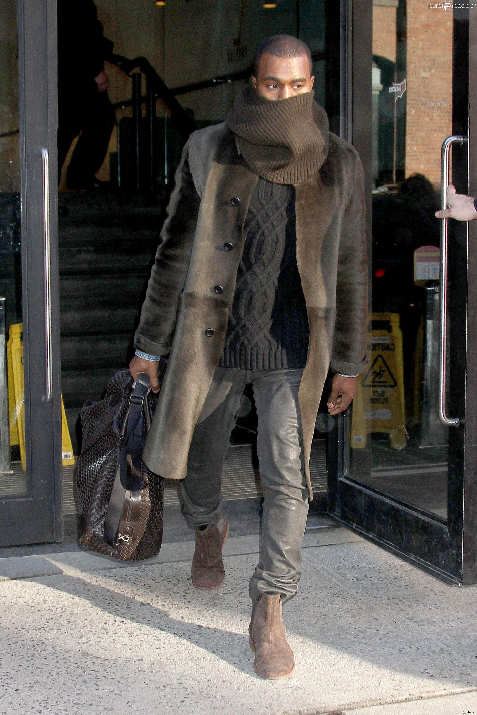 New York. 22 février 2014. | yeezy wore it in 2019 | Kanye ...