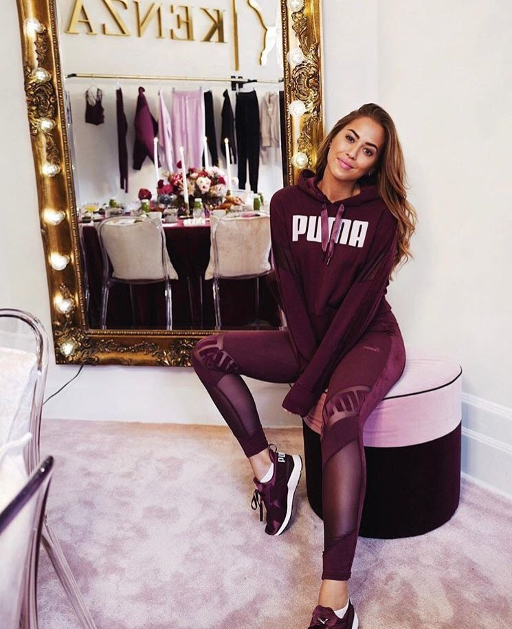 We love this photo of Kenza and our Icon Mirror at the Puma