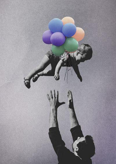 .float away