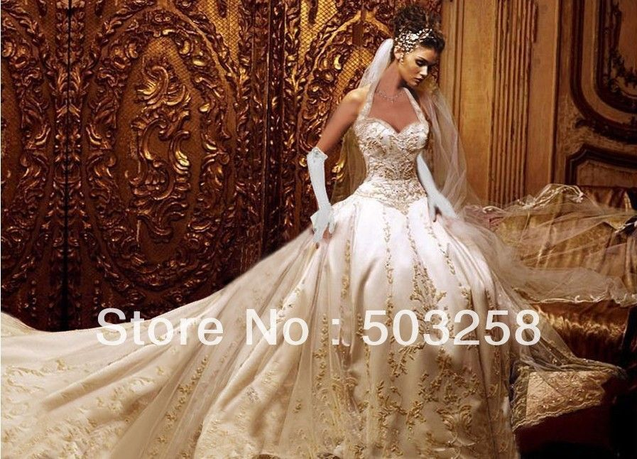 Best Ivory And Gold Wedding Dresses Photos - Styles & Ideas 2018 ...
