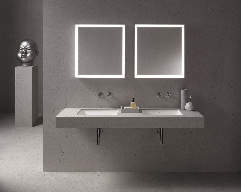 Vasca Da Bagno Incasso Sottopiano : Me lavabo da incasso sottopiano by duravit design philippe starck