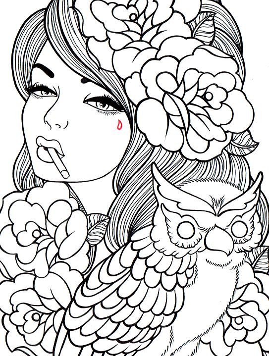 Coloring pages for kids and adults | For the Home | Coloring pages ...