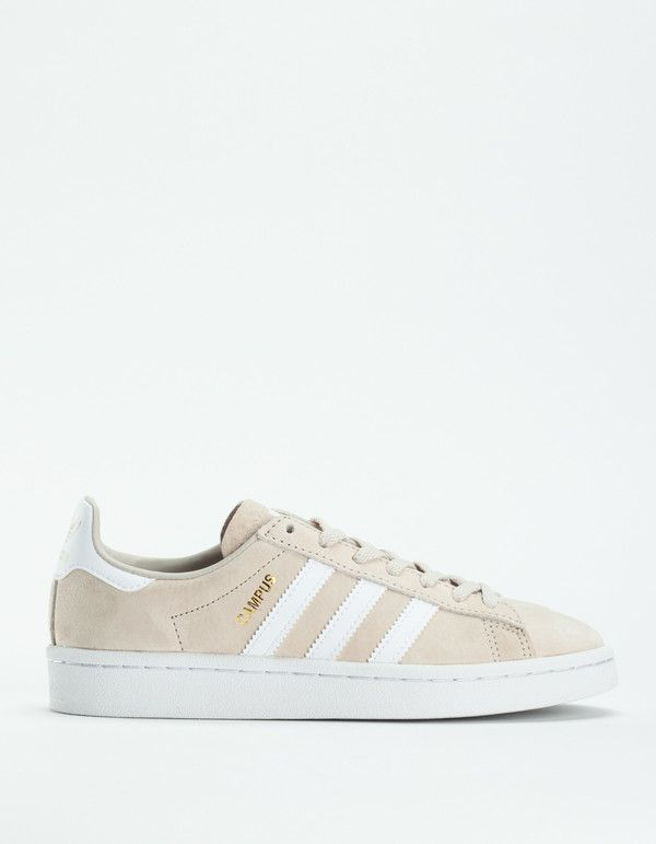 adidas Campus - Clear Brown/White on