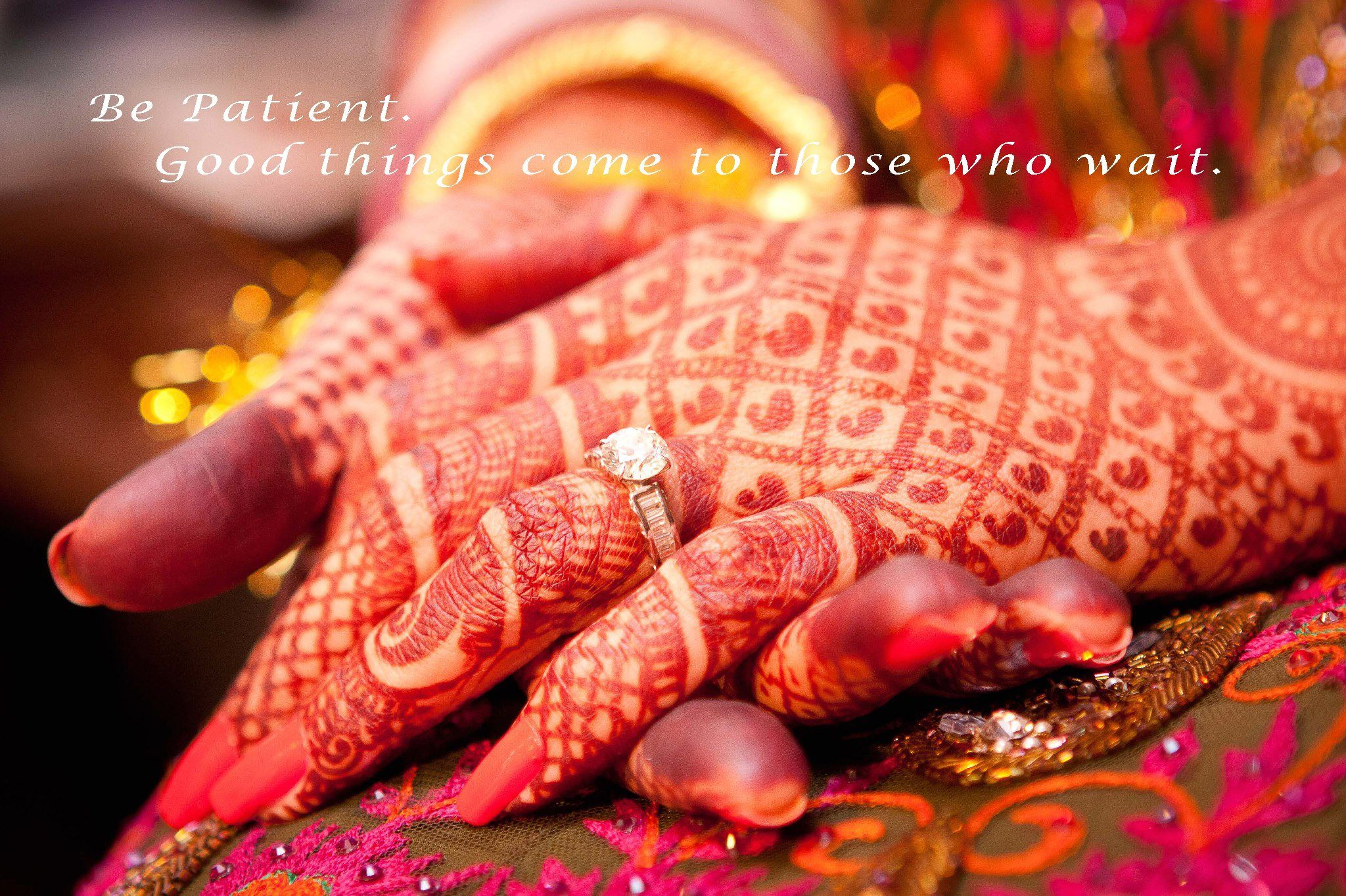 Mehndi Quotes For Wedding : Write quote on beautiful wedding dress girl hand picture