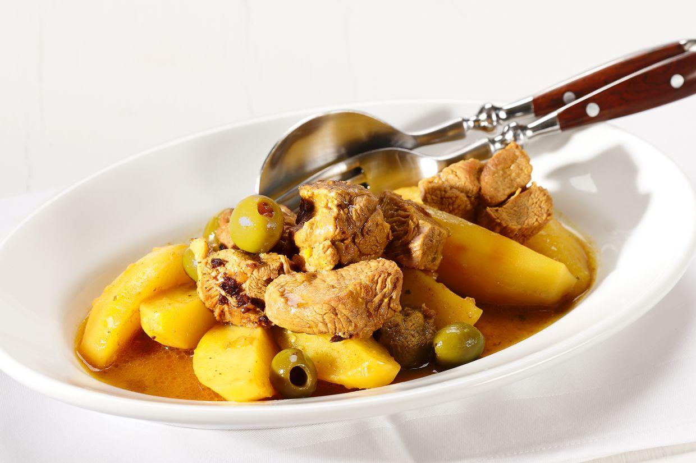 Sommerküche Wildeisen : Lammwürfel mit kartoffeln an zitronenjus recipe
