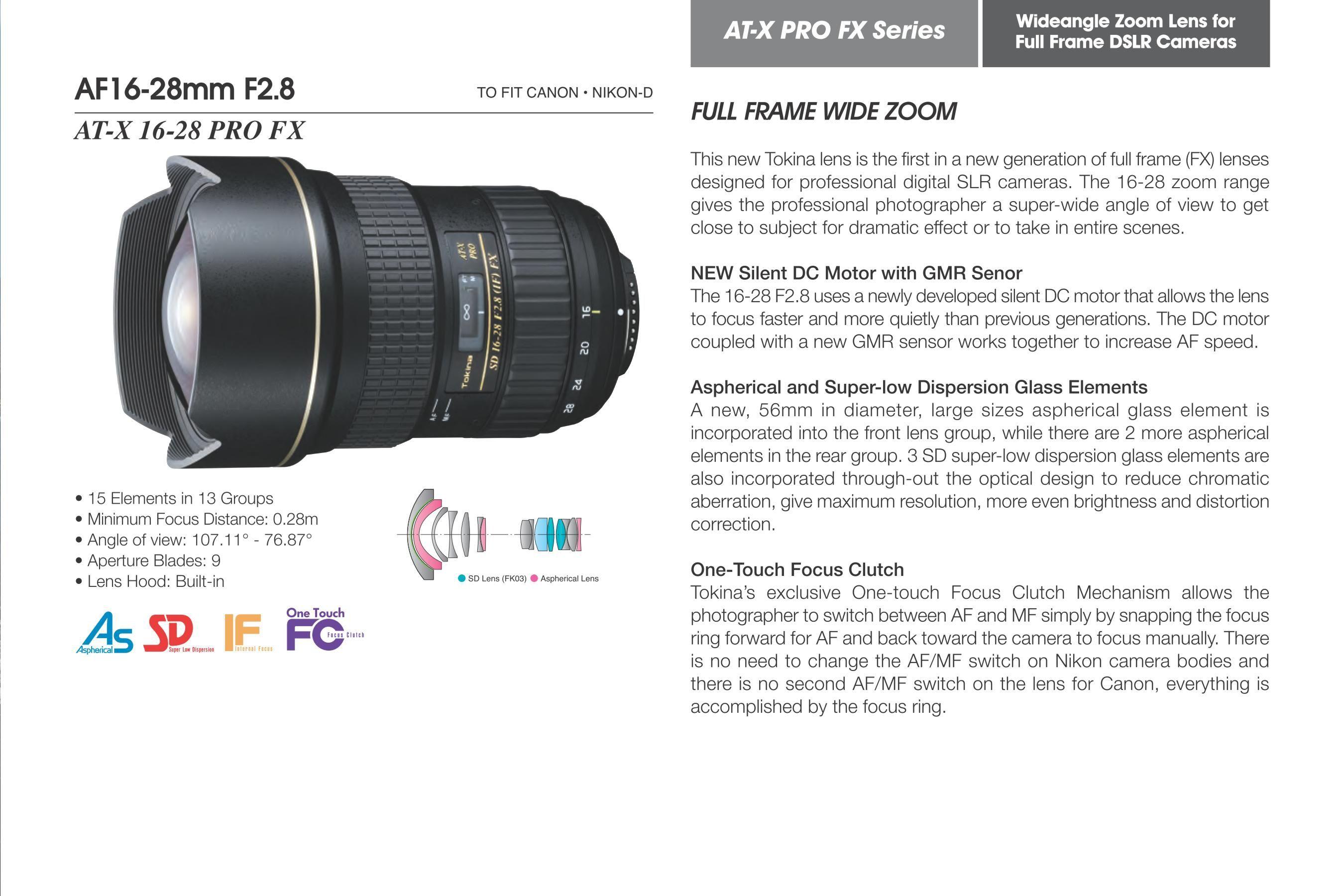 Tokina AF16-28mm F2.8 Tips. Tokina. | Photography Tips | Pinterest ...