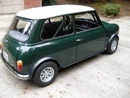 Mini Cooper British Racing Green White Roof Of Course 1275cc Went Like A The Clappers Mini Cooper Classic Mini Mini Driver