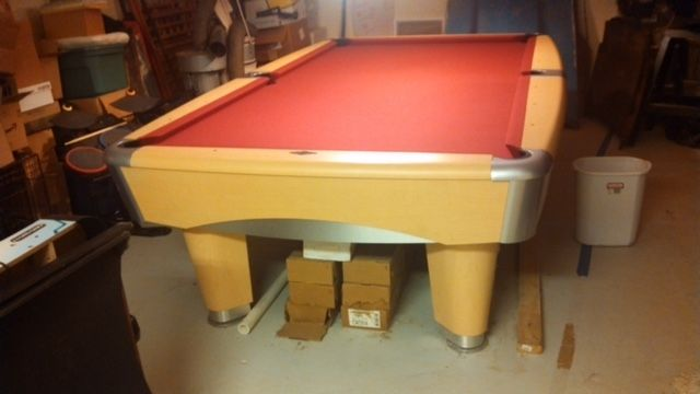 Gorgeous Brunswick Metro Sold Used Pool Tables Billiard Tables - Brunswick metro pool table for sale