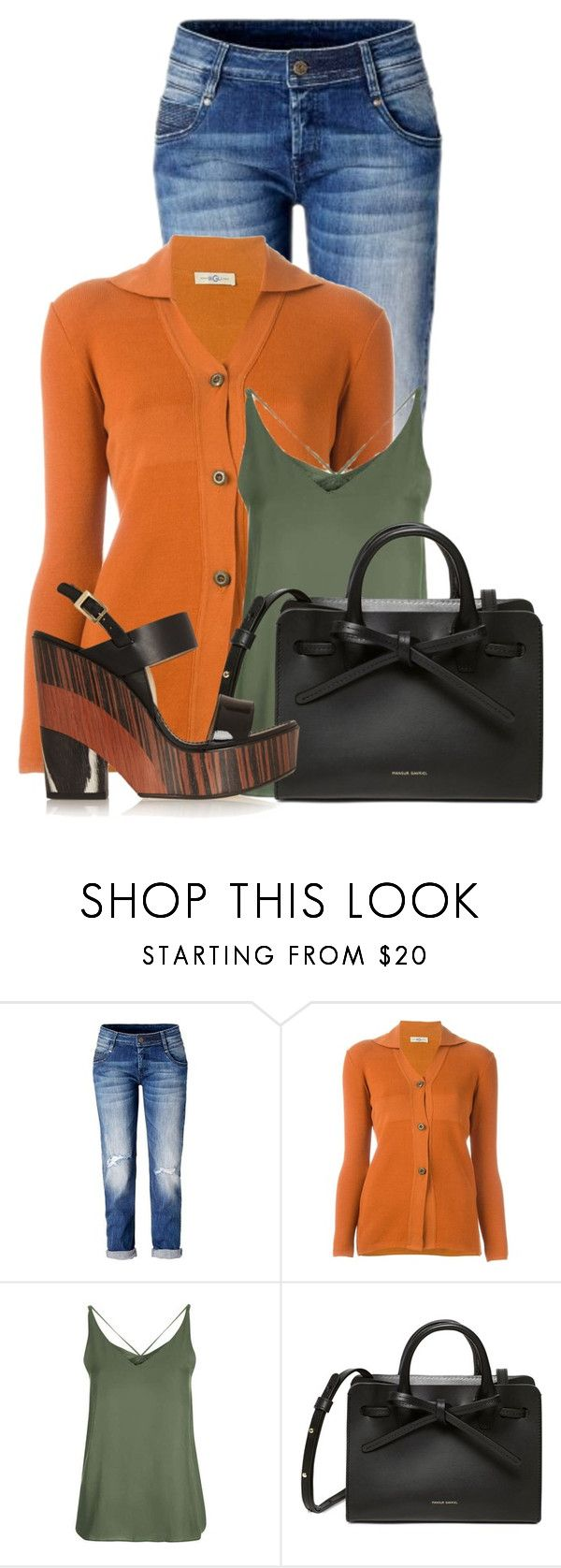 """""""Untitled #20560"""" by nanette-253 ❤ liked on Polyvore featuring Romeo Gigli, Topshop and Jimmy Choo"""