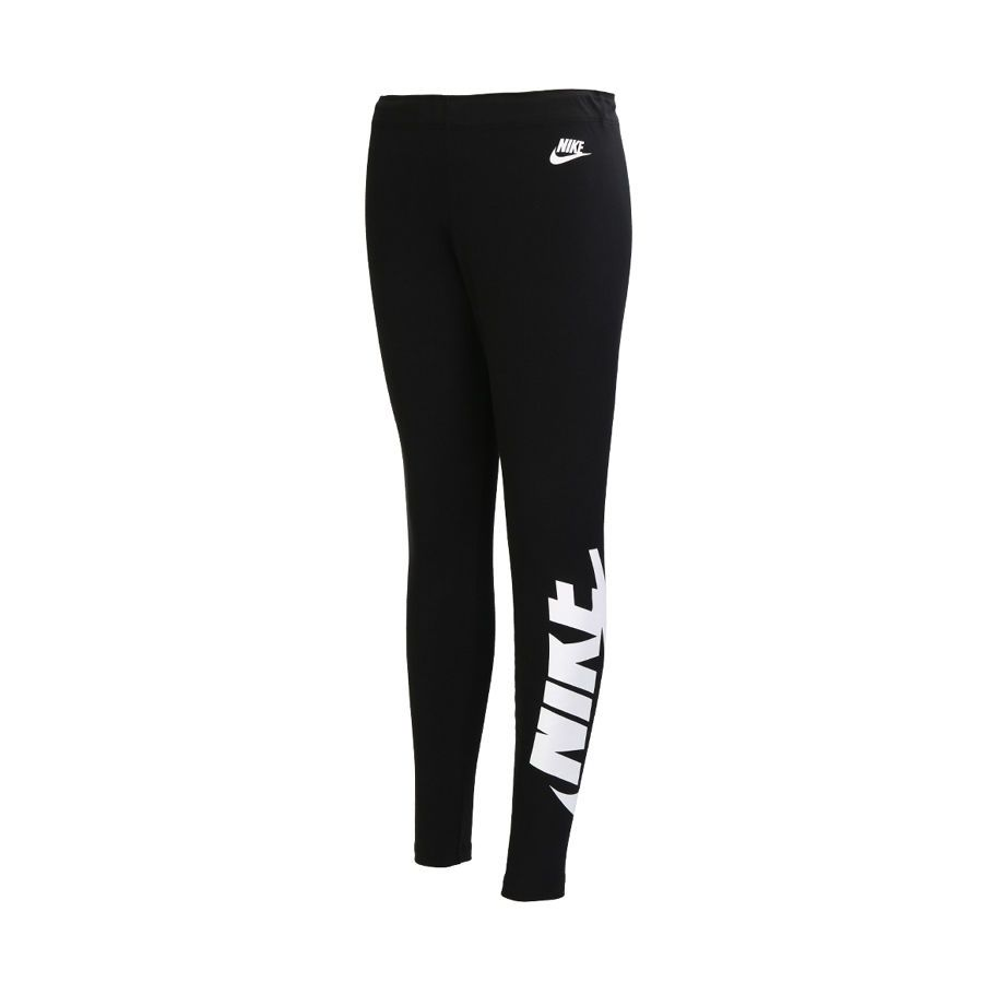Nike Womens NSW Logo Leggings (846514-010) Sport Goods Athletic Apparel  Size 70M