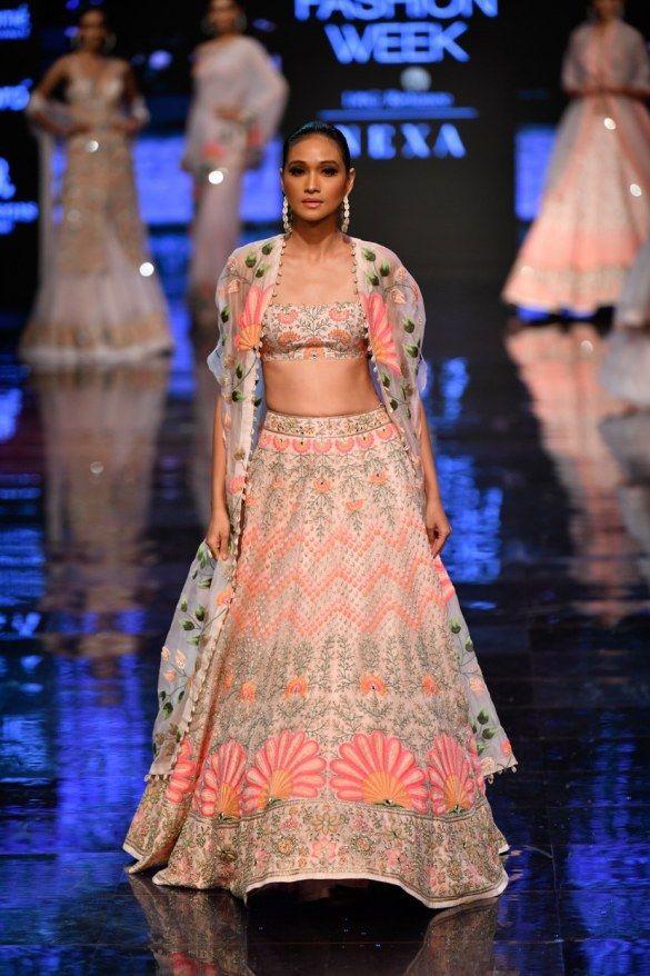 New Arpita Mehta 2019 Lakme Fashion Week Collection #chaniyacholi