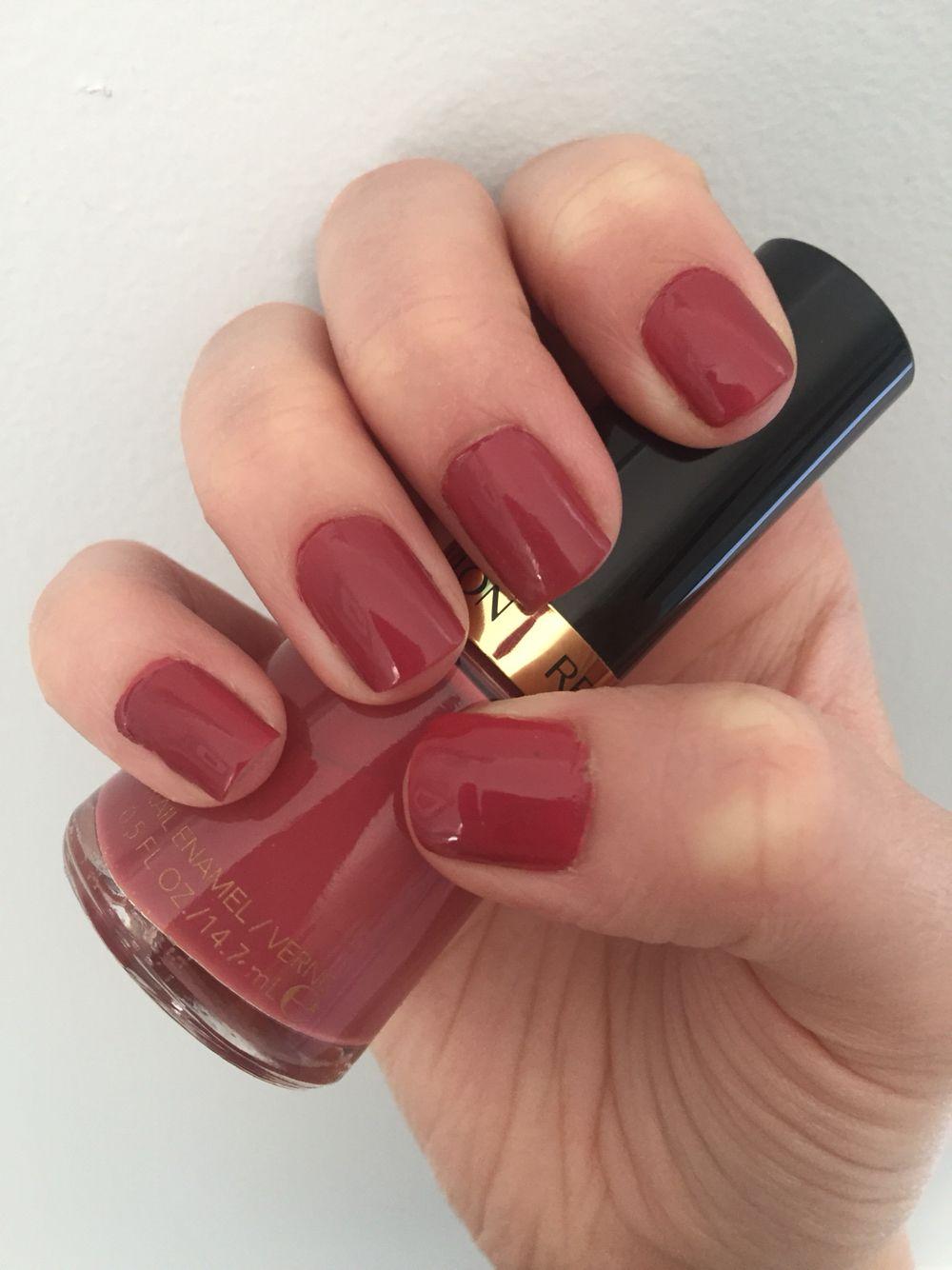 Revlon Teak Rose Nails Natural Nails Lipstick Swatches Revlon Nail