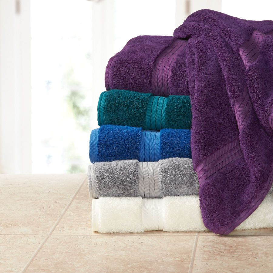 Multi Colored Bath Towels Sets Bathroom Towels Cotton Terry