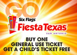 Free Fun In Austin Free Child Ticket To Six Flags Fiesta Texas Six Flags Fiesta Texas Six Flags San Antonio Things To Do