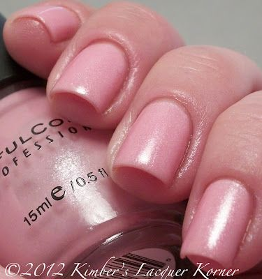 Sinful Colors - Flutter soft pink nail polish