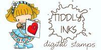 Inchiostri Tiddly - francobolli Digitali Carino