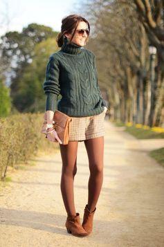 グリーンセーター