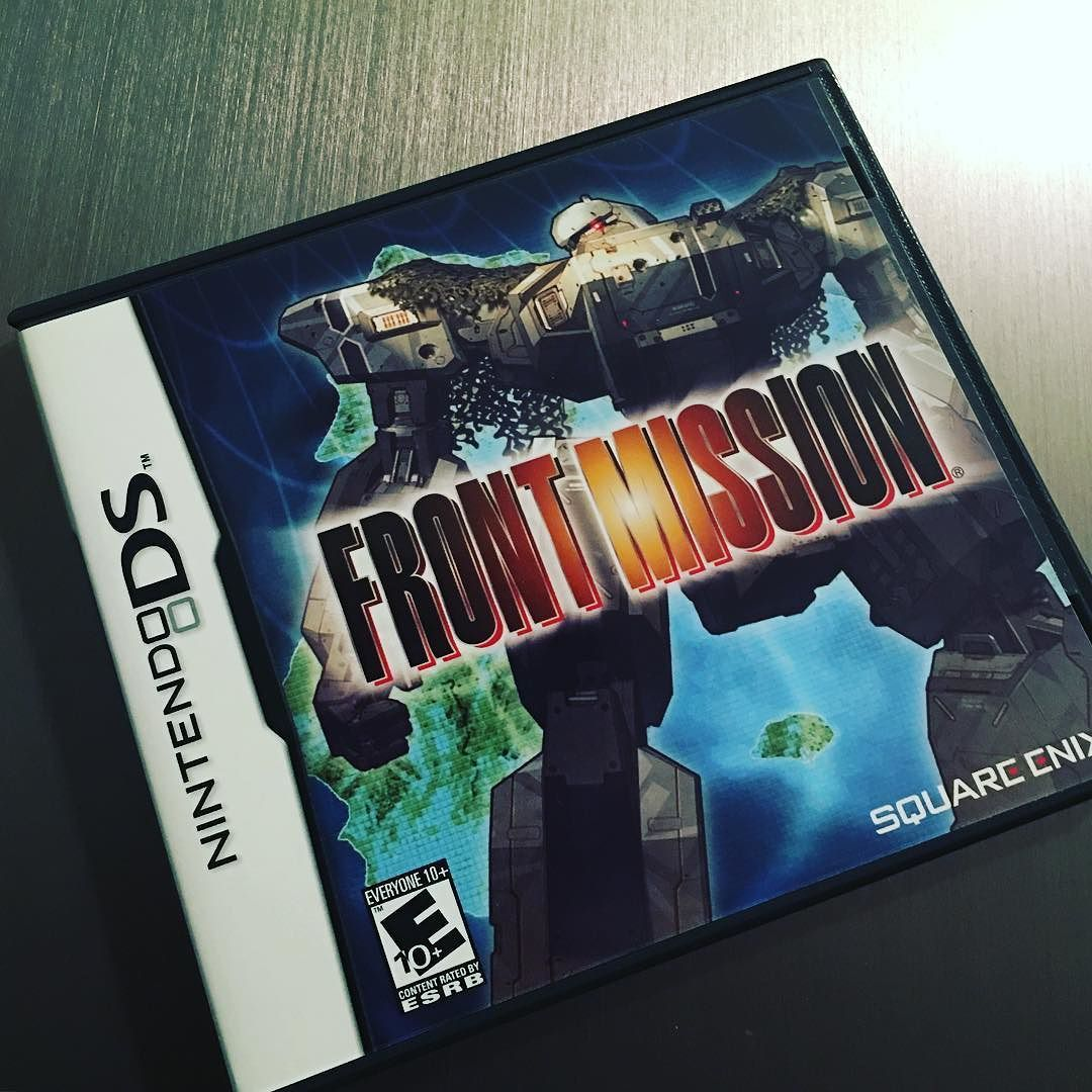 Interesting one by zer0c99 #retrogaming #microhobbit (o) http://ift.tt/1R7drM2 superpowers are at the brink of war. #nintendo #nintendods #nintendo3ds #ds #3ds #squareenix #frontmission #frontmissionds #strategyrpg #gamer #instagamer #instagaming #videogames #videogamecollector #videogamecollection #retrogamer  #mechs #gamers