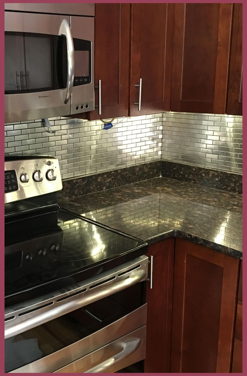 - Pros And Cons Of Stainless Steel Backsplash Stainless Backsplash