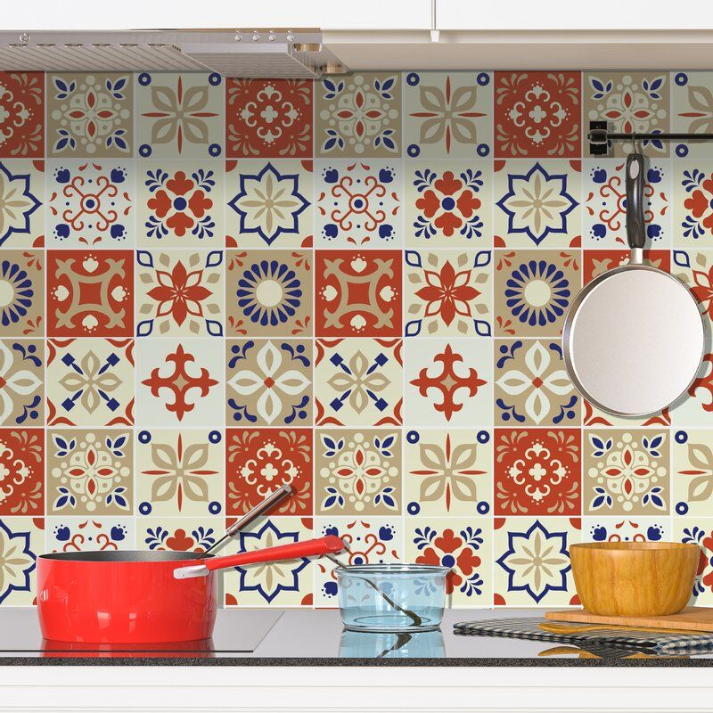 35 X 24 Pvc Peel Stick Mosaic Tile Peel Stick Backsplash Stick Tile Backsplash Moroccan Wall Tiles