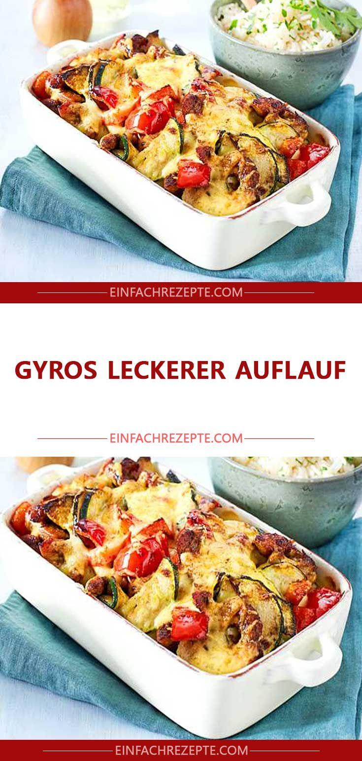 Gyros leckerer Auflauf #loadedcauliflowerbake
