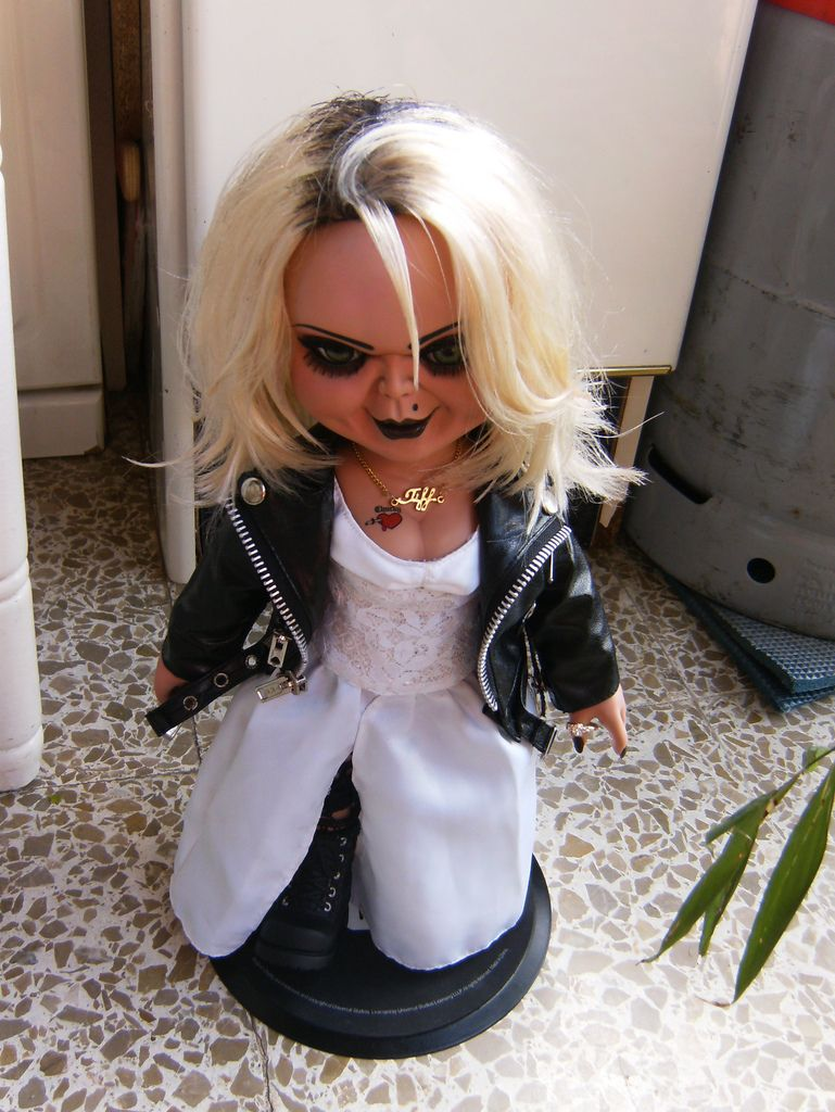afbeeldingsresultaat voor chucky and tiffany dolls scary movies