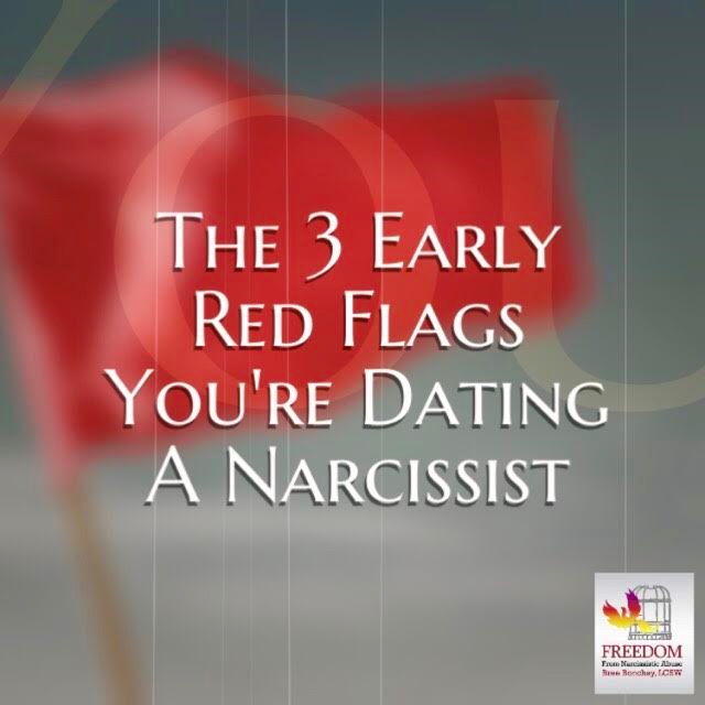 Red flags in early dating signs