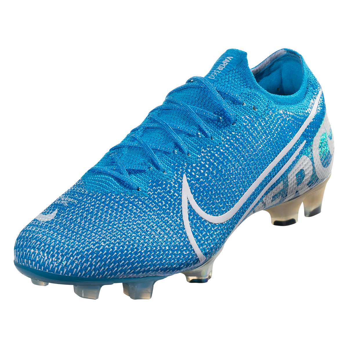 Nike Mercurial Vapor 13 Elite Fg Soccer Cleat Blue White Obsidian 7 5 Soccer Cleats Football Shoes Cleats