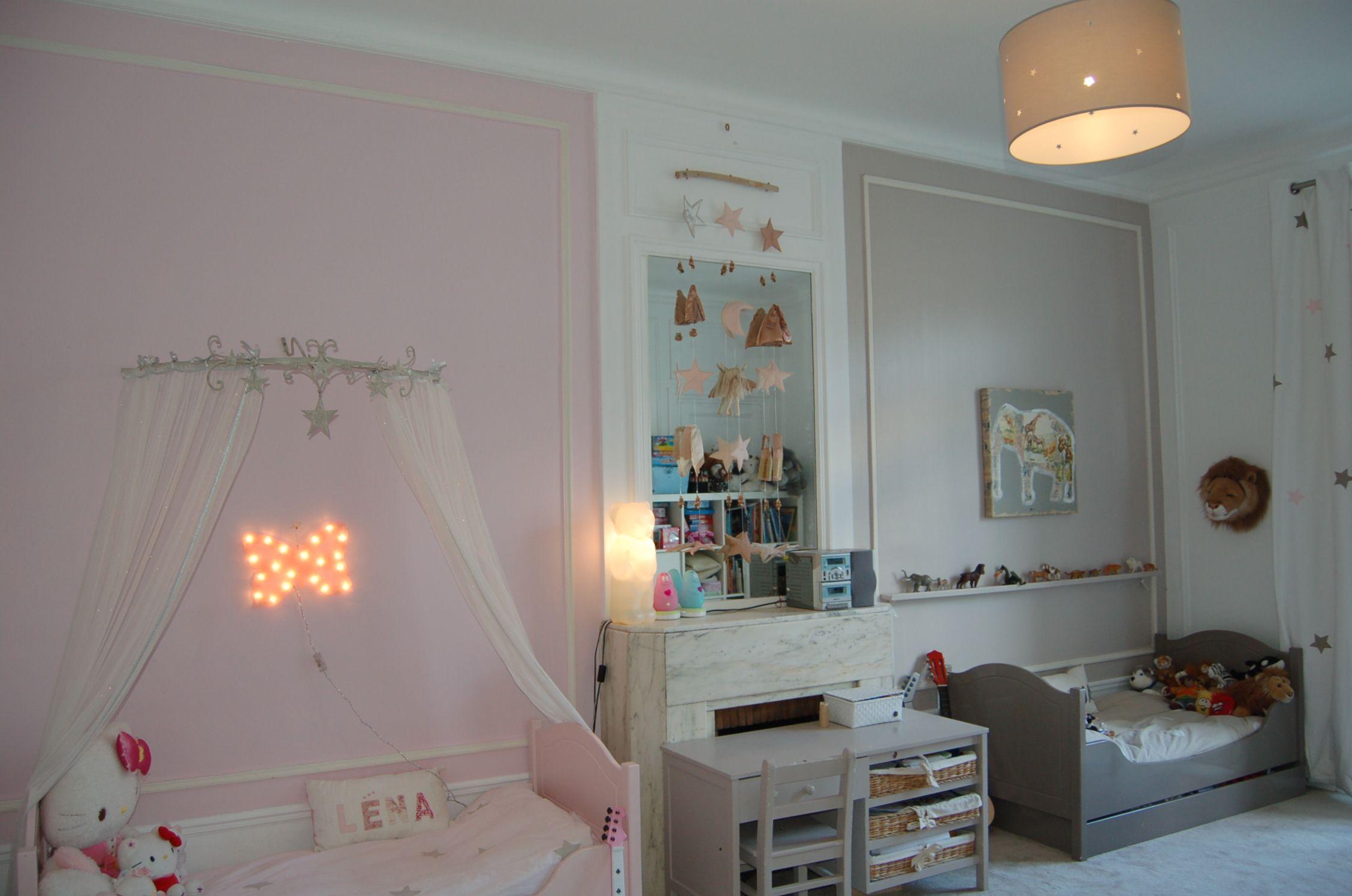 chambre garçon et fille, chambre mixte, chambre Nanelle, Nanelle