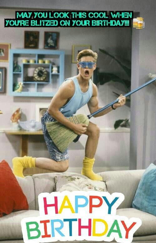 Saved by the Bell Birthday Meme
