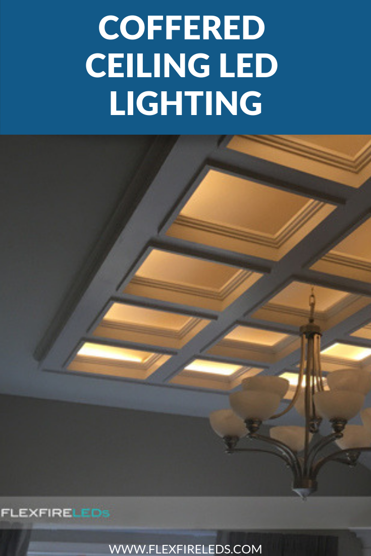 Coffered Ceiling Led Lighting Coffered Ceiling Led Strip Lighting Ceiling