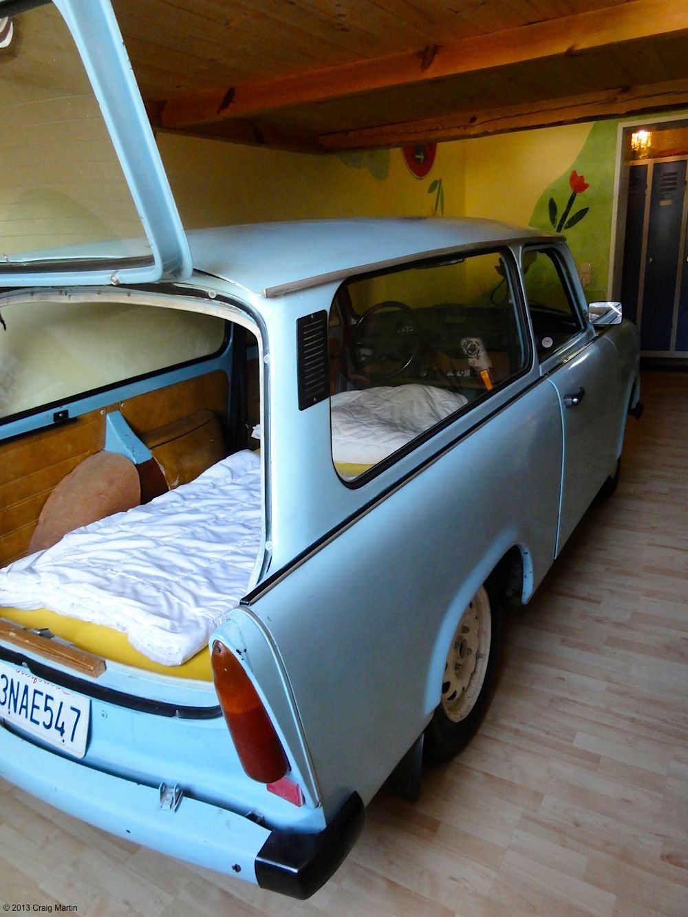 Why Sleep In A Bed When You Can Sleep In A Genuine East German
