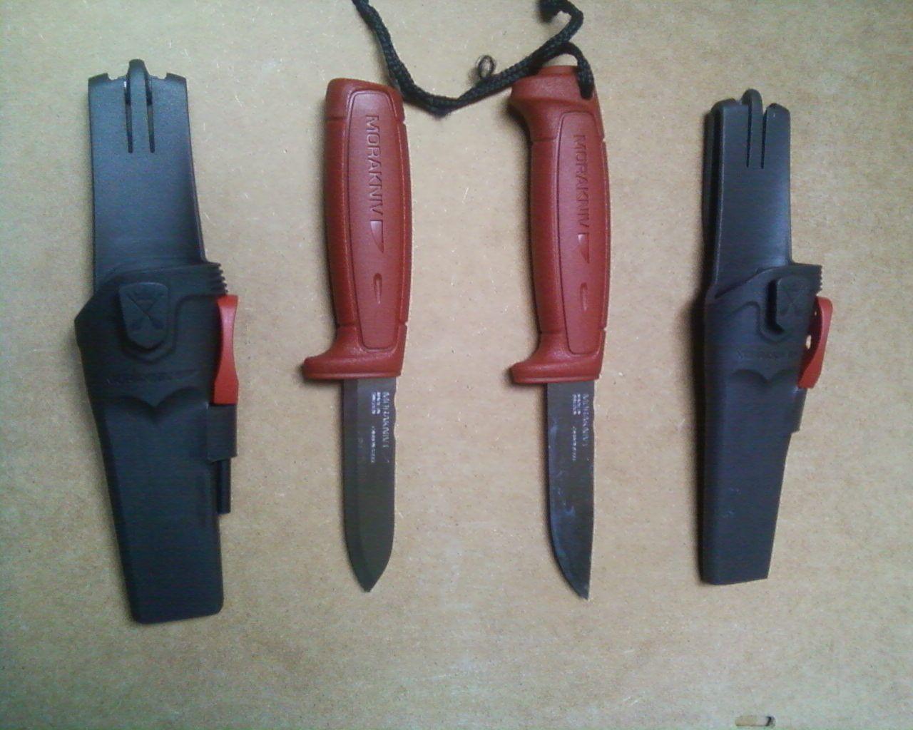 Mora Knife Sheath Mods