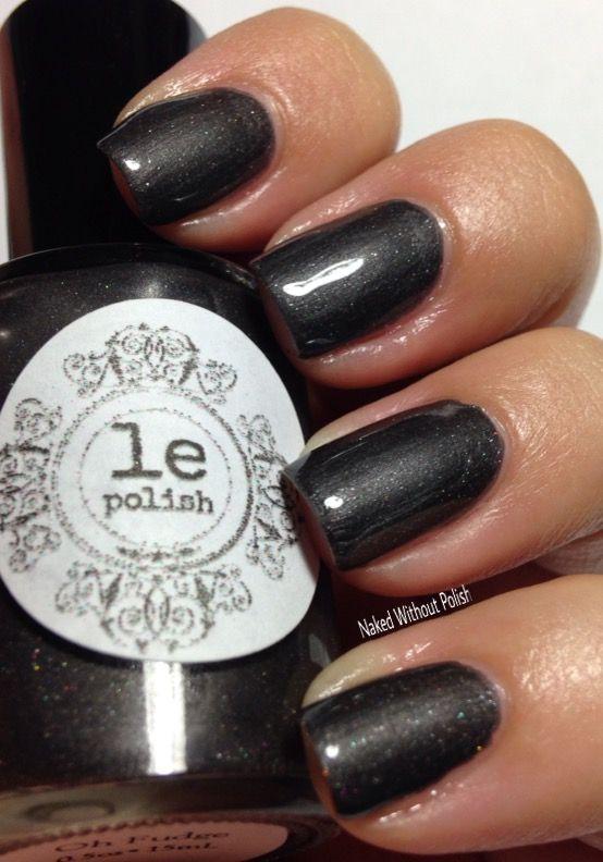 LE Polish Oh Fudge limited edition in direct light @le5272