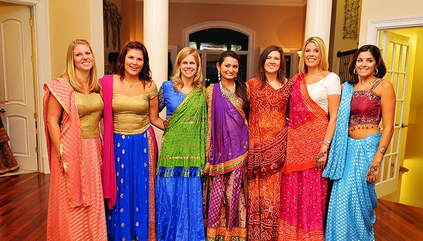 what to wear to a wedding indian