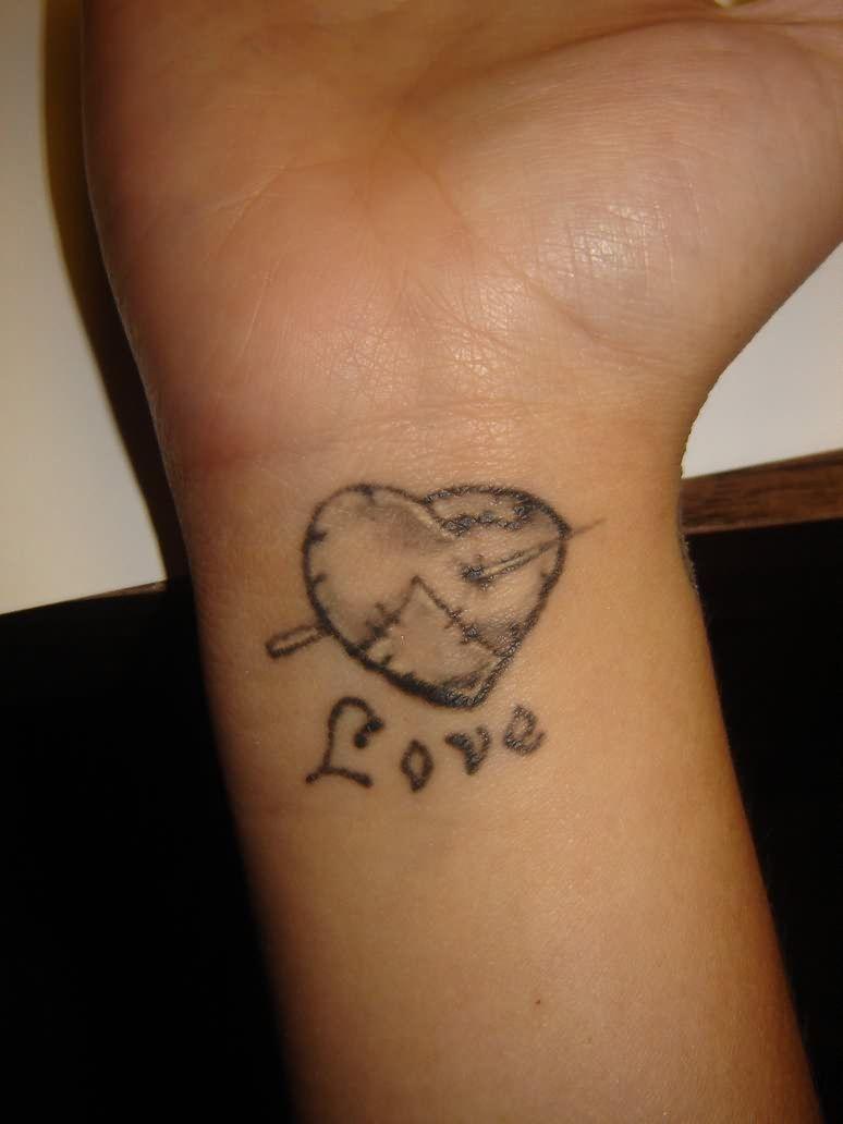 Tattoosforgirls heart tattoos for wrists for younger girls