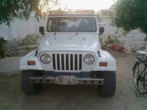 Jeep Wrangler Sahara 1998 For Sale In Karachi Jeep Wrangler For