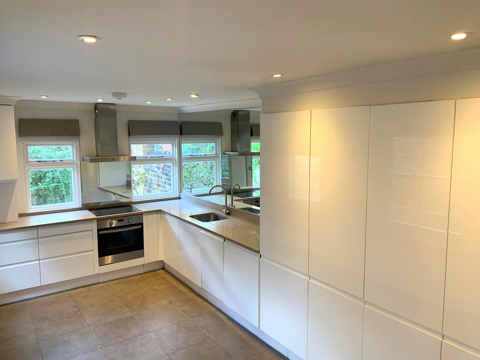 4yr Old B&Q Kitchen with Worktops and Some Appliances