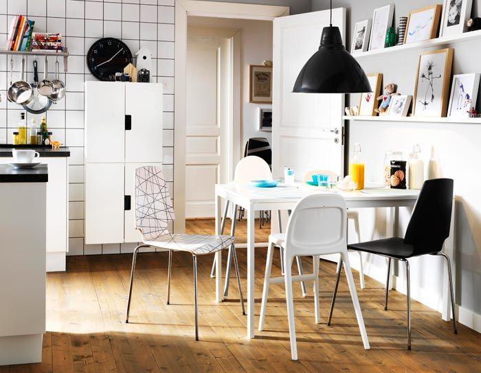 Mesas y sillas de cocina Ikea 2013 | Personalizando Ikea | Pinterest ...