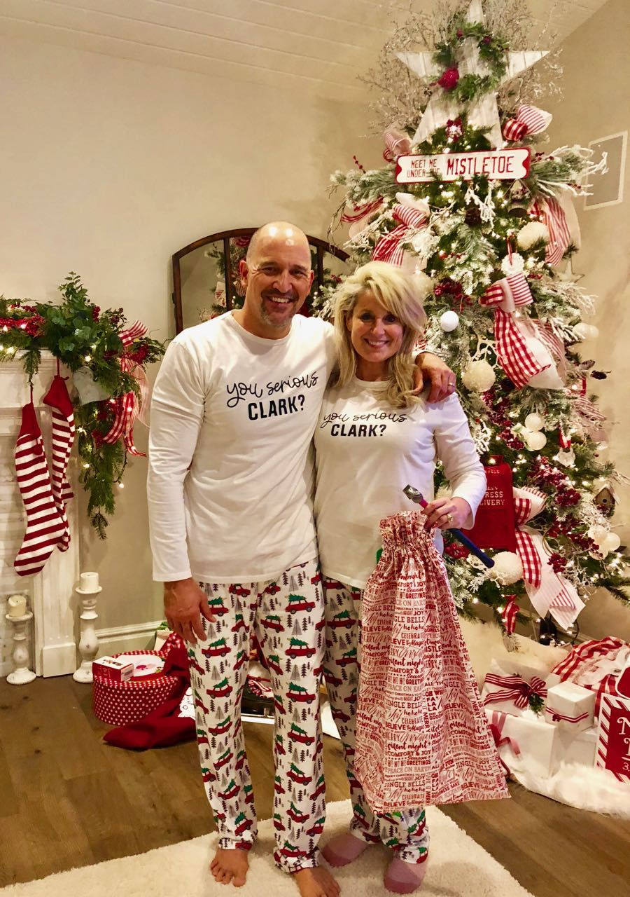 Christmas Vacation Griswold Style Party Idea National Lampoon Themed Costume Christmas Party In 2020 Christmas Vacation Pajamas Christmas Vacation Movie Christmas Jammies
