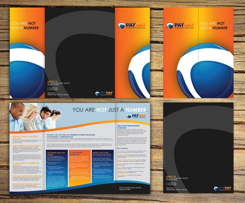 freelance brochure design for Payday Workforce Solutions by ...