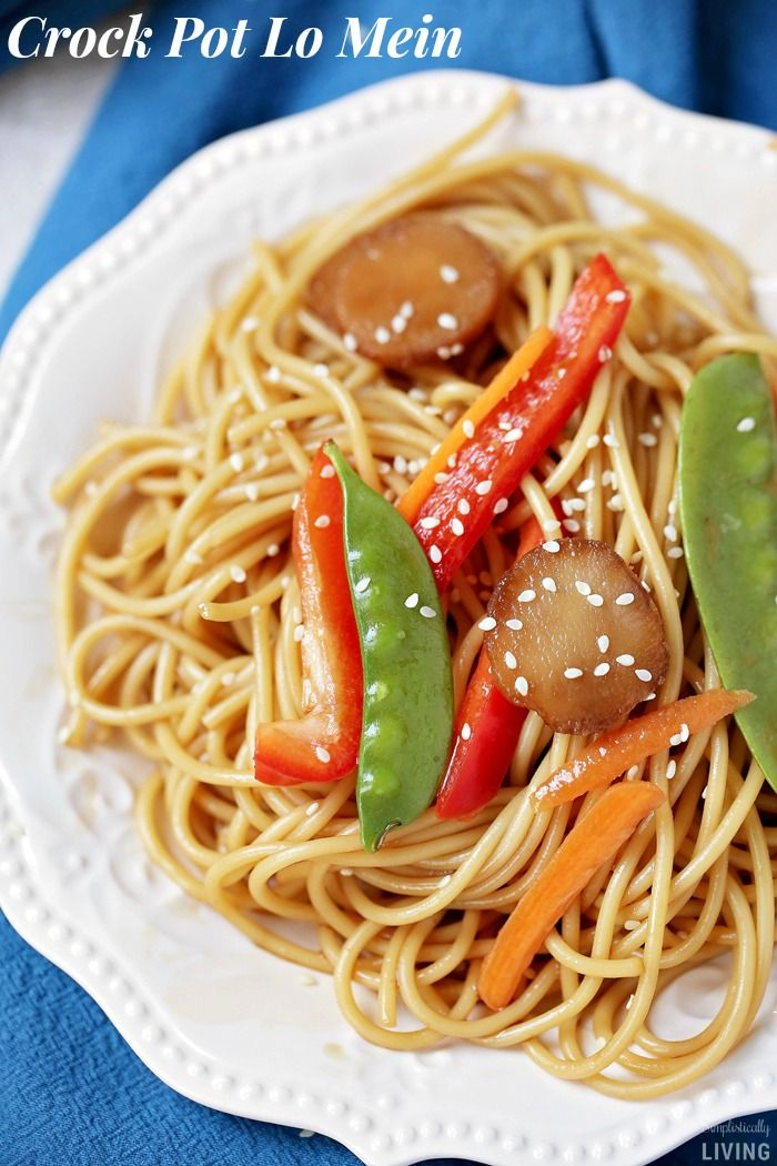 Crock pot lo mein recipe easy crockpot recipes lo mein and food crock pot lo mein recipe forumfinder Images