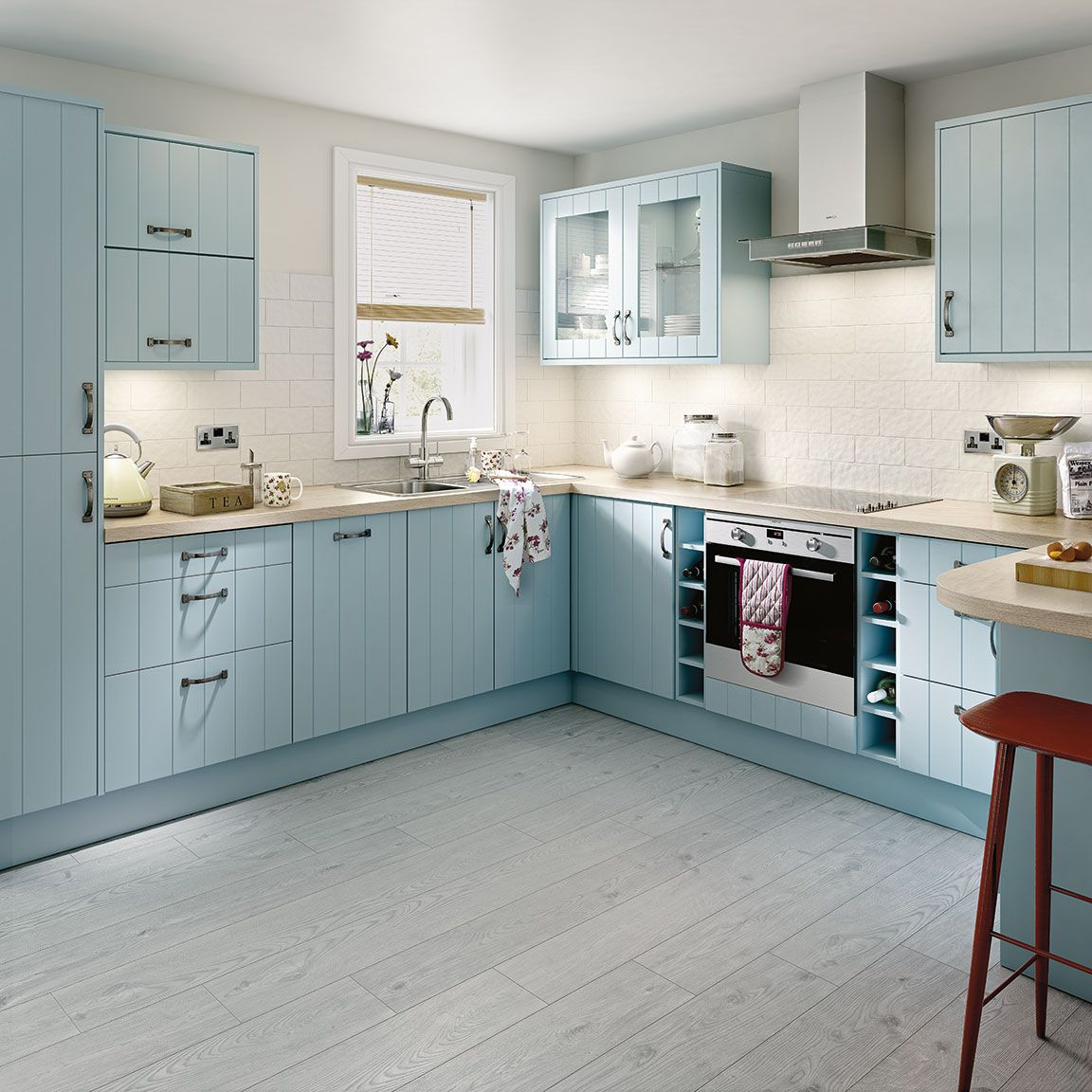Simply Hygena Turnham Kitchen | Blue kitchens | Pinterest | Kitchens ...