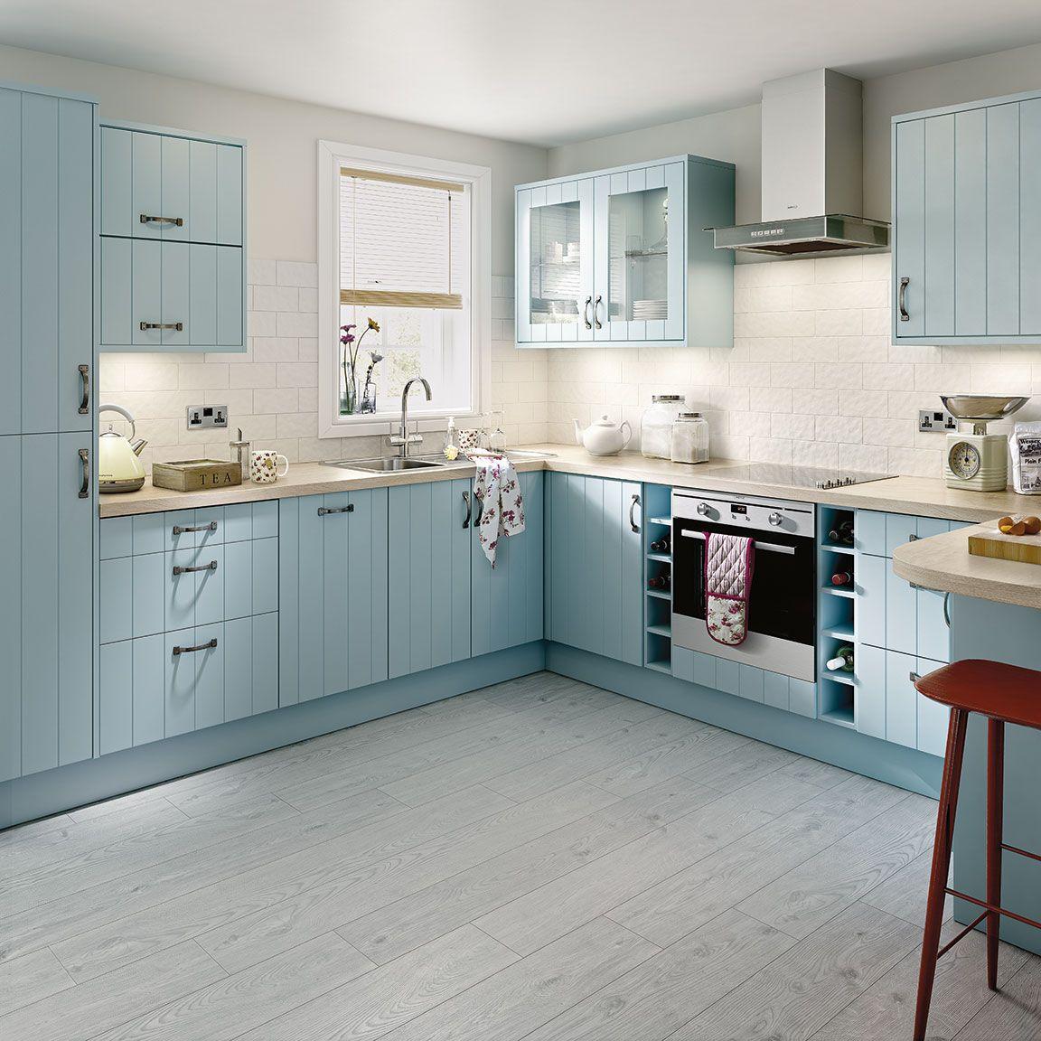 simply hygena turnham kitchen blue kitchens pinterest